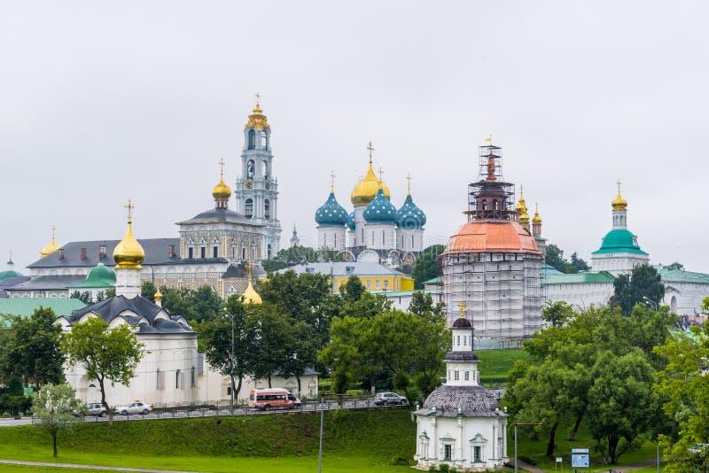 La trinité Lavra de St Sergius à Moscou, Russie photographie stock