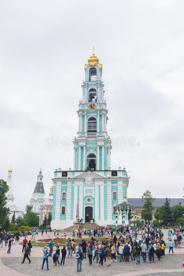 La trinité Lavra de St Sergius à Moscou, Russie image libre de droits
