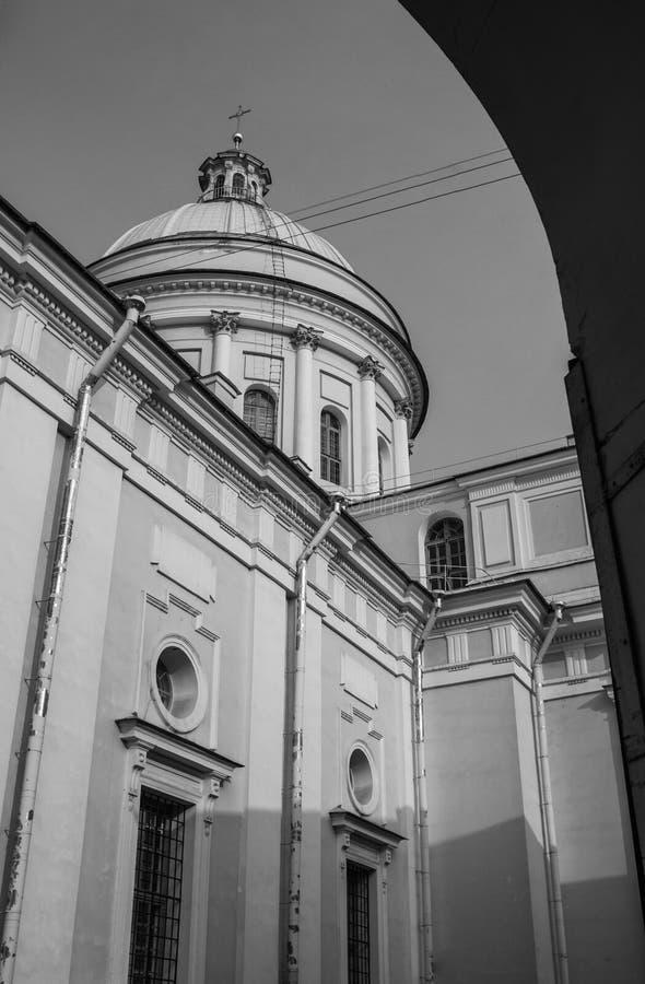 La trinité sainte Alexander Nevsky Lavra photo stock