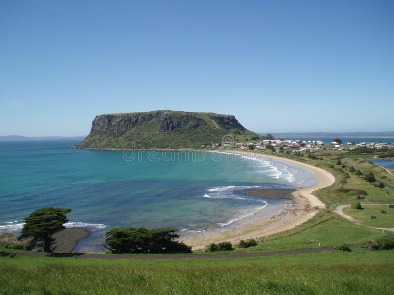 La tuerca de Stanley en Tasmania imagenes de archivo