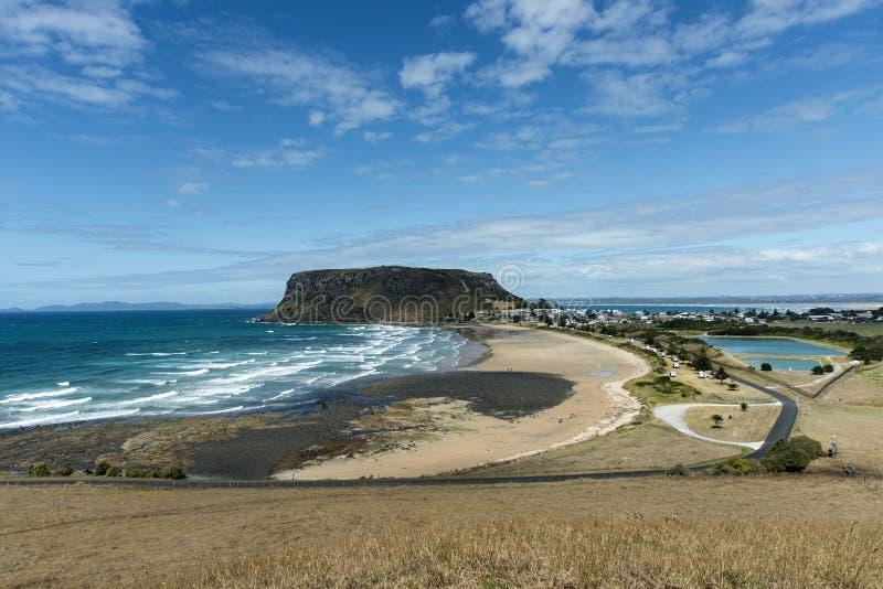 La tuerca Stanley Tasmania del noroeste fotografía de archivo libre de regalías