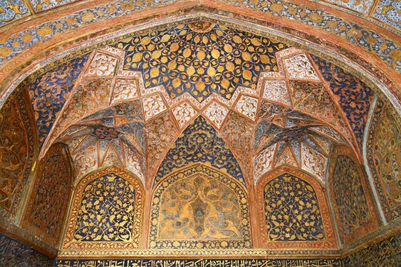 La tumba de Akbar imagenes de archivo
