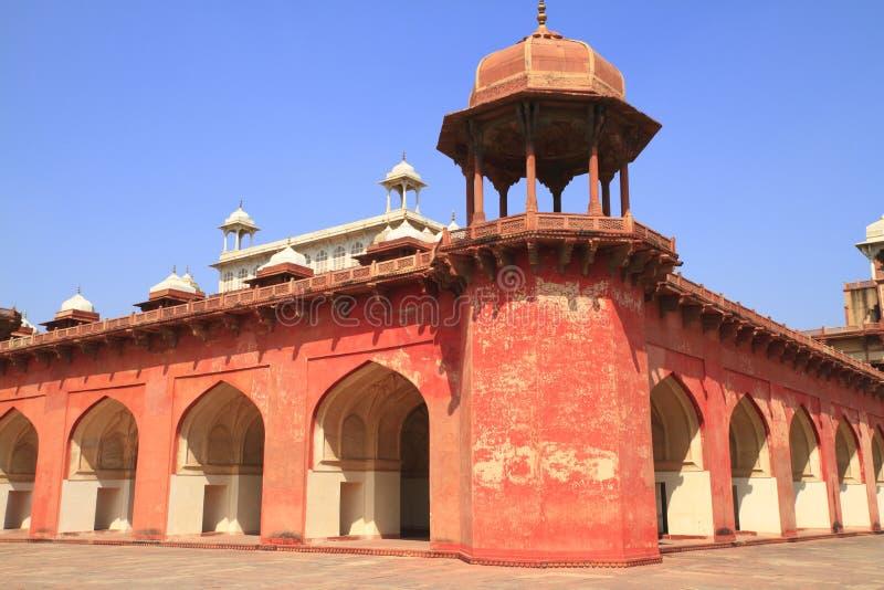 La tumba de Akbar foto de archivo libre de regalías
