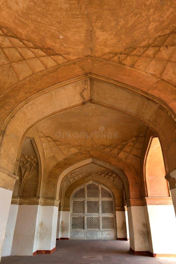 La tumba de Akbar el grande, Agra fotografía de archivo