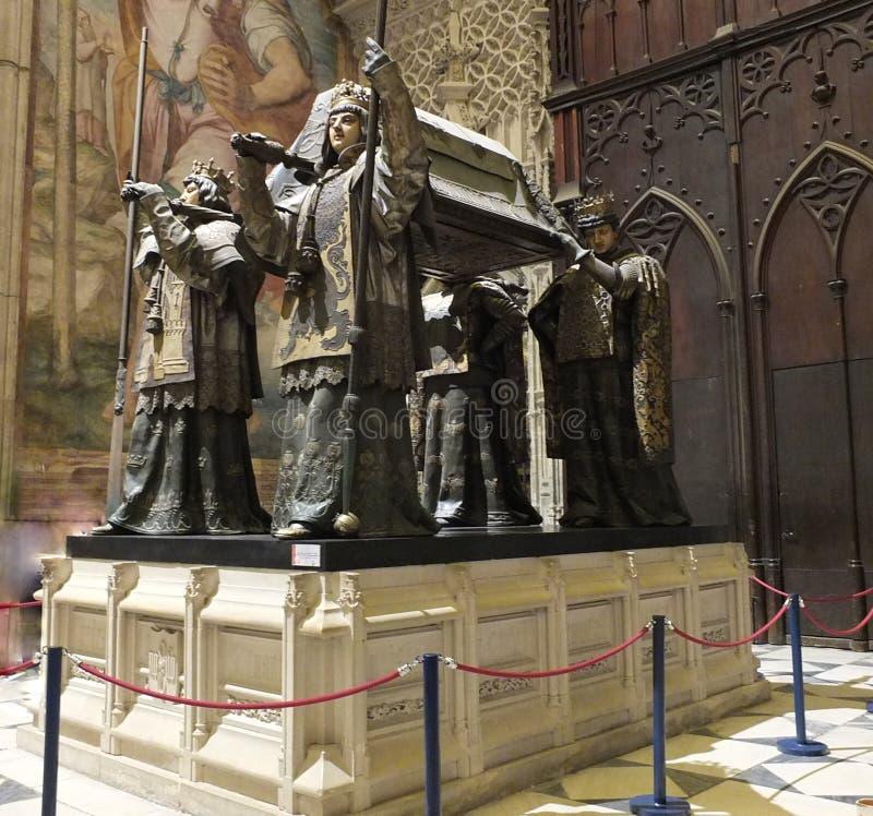 La tumba de Christopher Columbus Side View imagenes de archivo