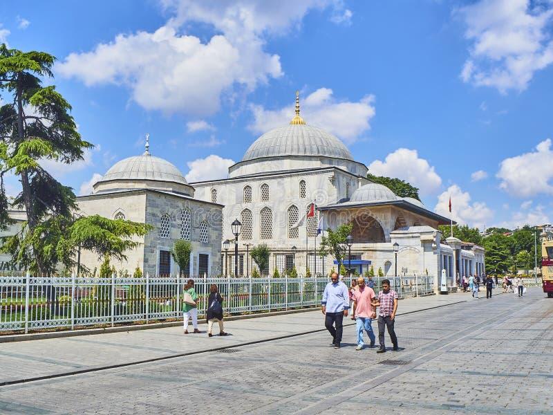 La tumba de Sultan Ahmet I en la luz del día Estambul, Turquía imágenes de archivo libres de regalías