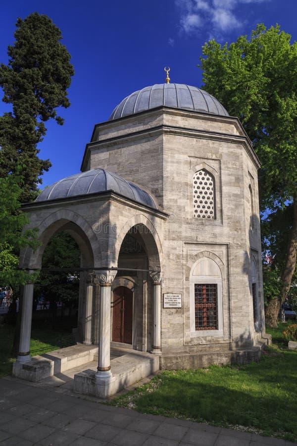 La tumba del bajá de Barbaros Hayreddin, Estambul fotografía de archivo libre de regalías