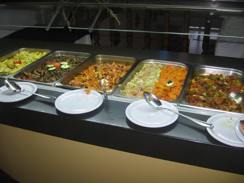 La Tunisia - alimento Mediterraneo fotografie stock libere da diritti