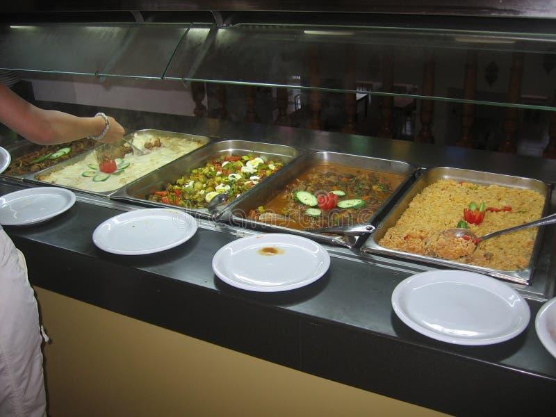 La Tunisie - nourriture méditerranéenne photographie stock libre de droits