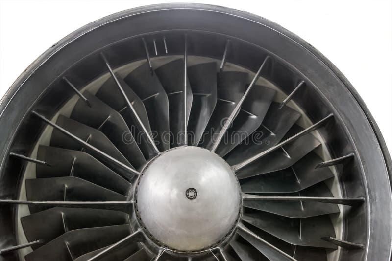 La turbina del motor a reacción fotos de archivo