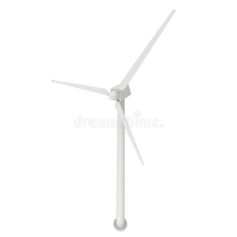 La turbine de vent 3d rendent illustration stock