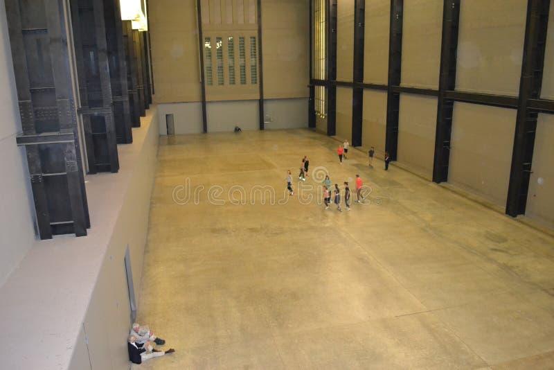 La turbine Hall Tate Modern London image stock