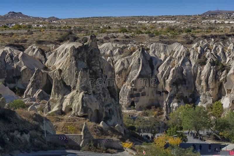 La Turchia, Cappadocia, roccia, paesaggio, viaggio, l'Anatolia, goreme, montagna immagini stock libere da diritti