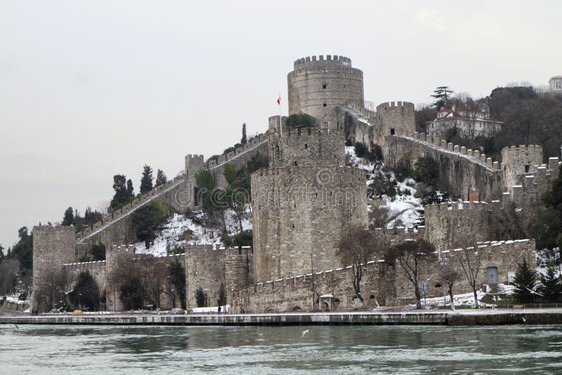 La Turchia, Costantinopoli, la fortezza di Rumeli immagine stock