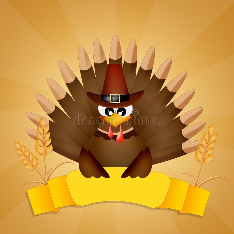 La turchia per il ringraziamento illustrazione di stock - Tacchino stampabile per il ringraziamento ...
