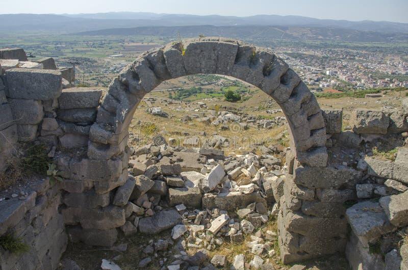 La Turchia, Smirne, Bergama fotografie stock