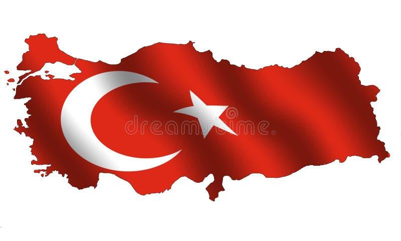 La Turquie illustration de vecteur