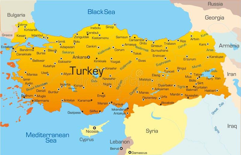La Turquie illustration libre de droits