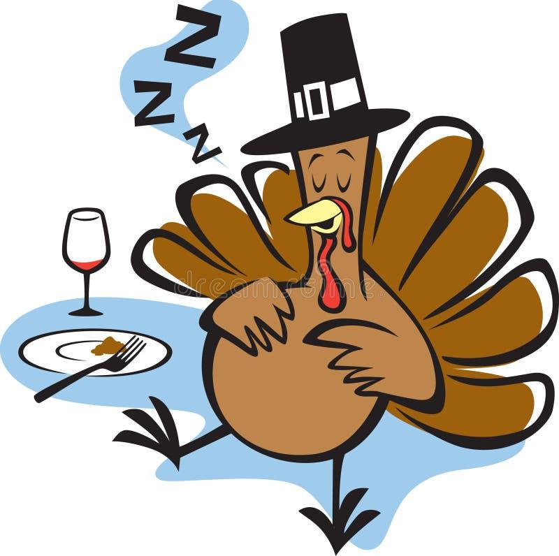 La Turquie bourrée illustration stock