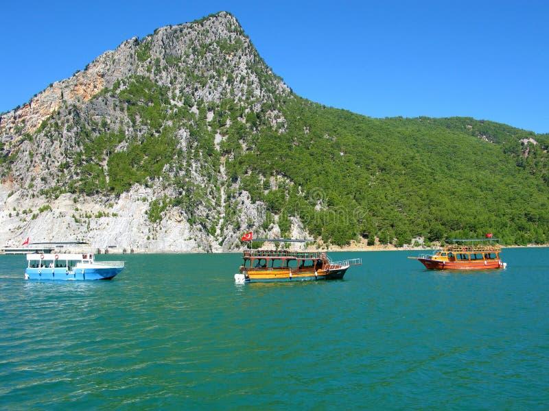 La Turquie. Canyon vert photographie stock
