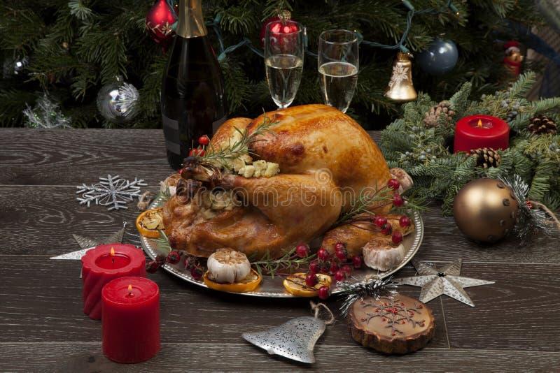 La Turquie de Noël à la mode russe photos libres de droits