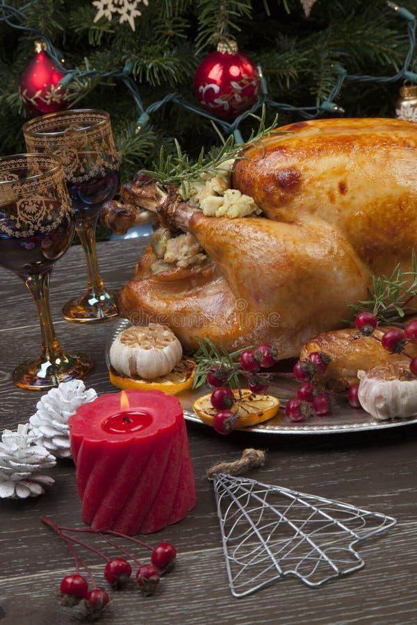 La Turquie de Noël à la mode russe photo libre de droits