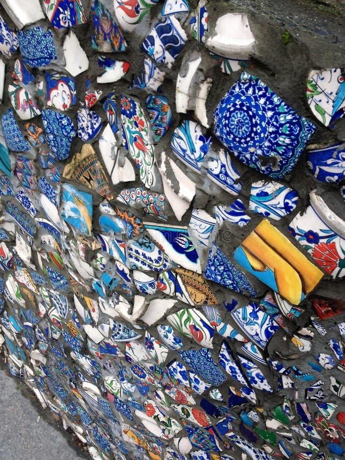 La Turquie, Istanbul mur image libre de droits