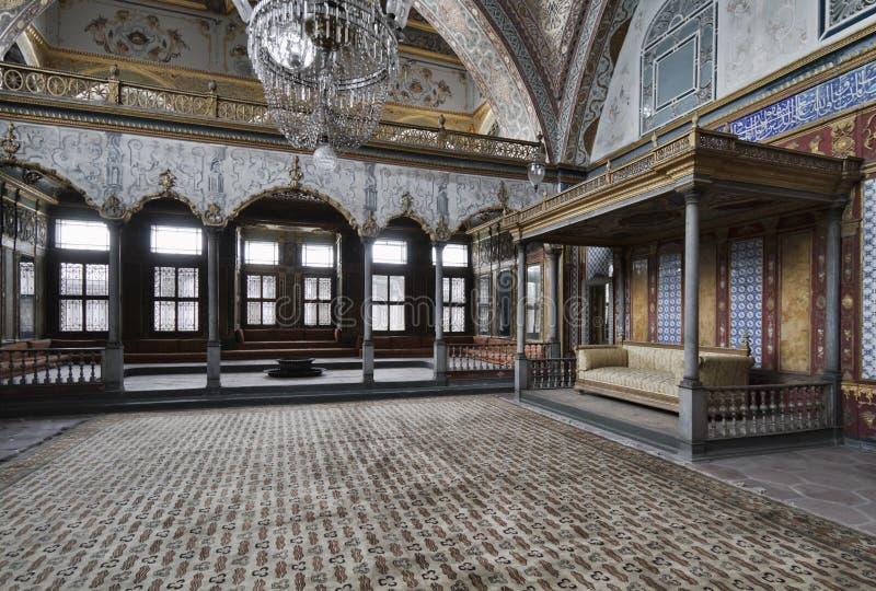 La Turquie, Istanbul, palais de Topkapi image libre de droits