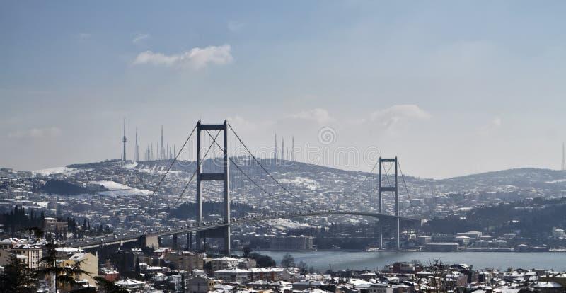 La Turquie, Istanbul, vue de la ville photo stock
