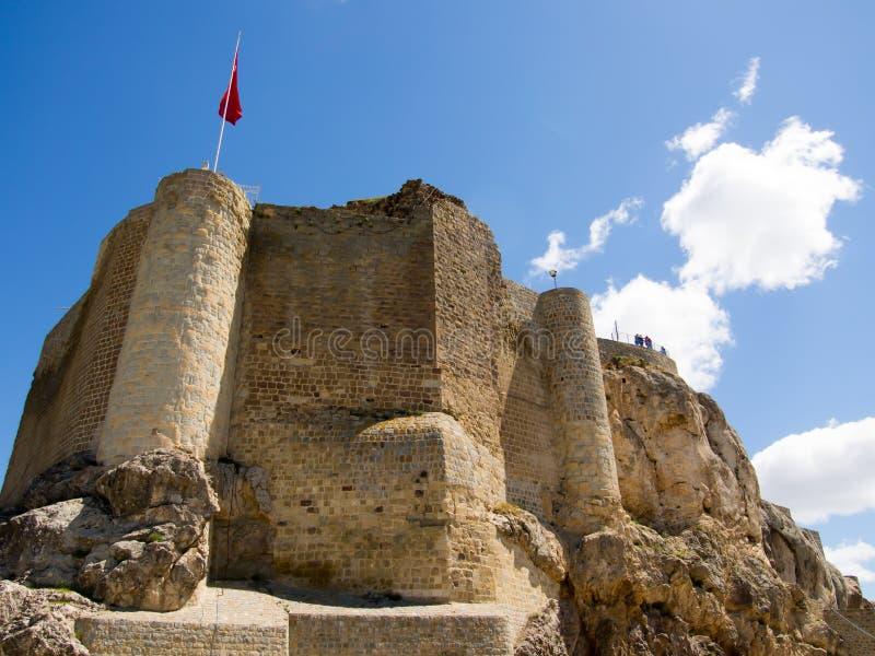 La Turquie, vue de château de harput d'Elazig photo stock