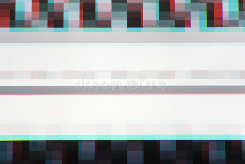 La TV alinea el ruido estático, contexto del fondo de la abstracción foto de archivo libre de regalías