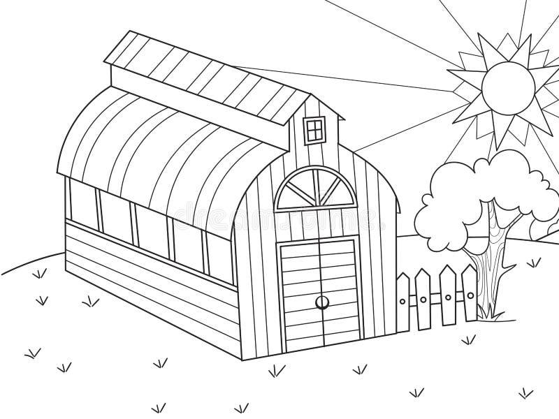 La Ubicación De La Agricultura Hangar Para La Comida Para Los ...