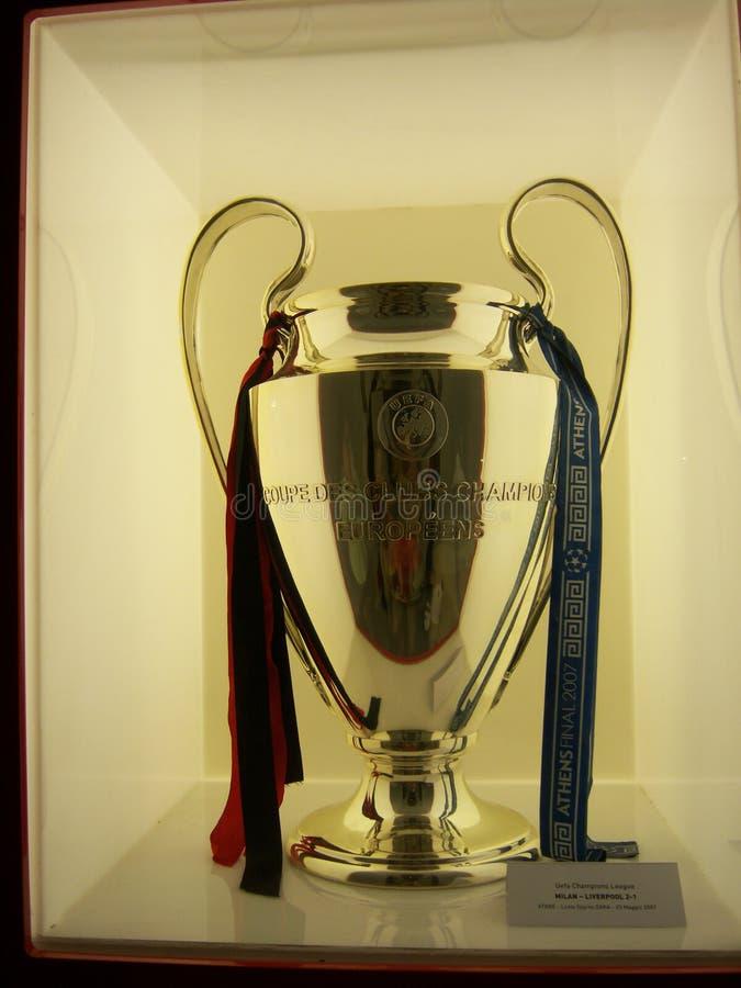 La UEFA defiende la liga 2007 imagen de archivo libre de regalías