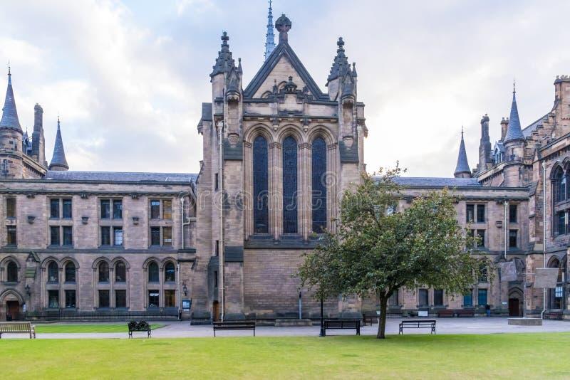 La universidad de Glasgow Cloisters fotos de archivo
