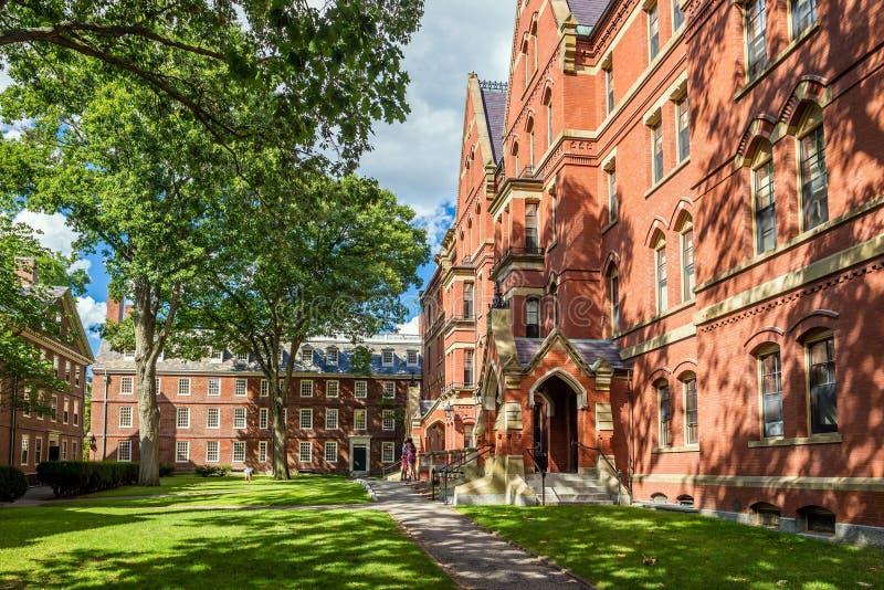 La Universidad de Harvard imagen de archivo