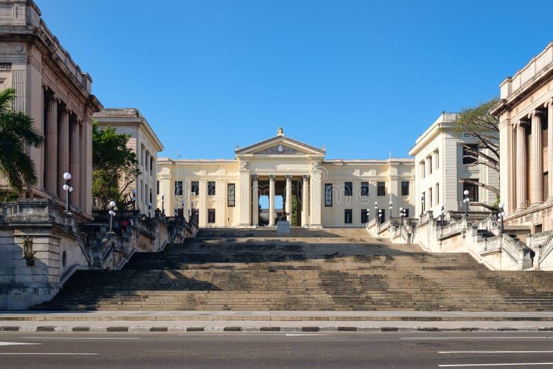 La universidad de La Habana en Cuba fotos de archivo
