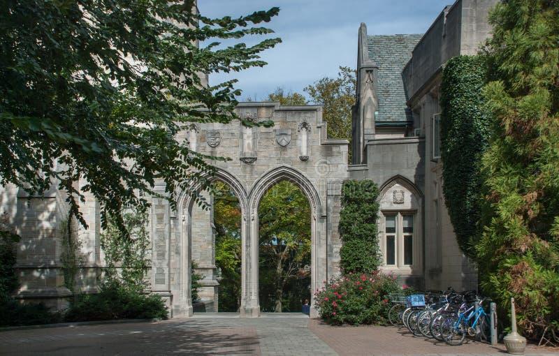 La Universidad de Princeton es una universidad privada de la investigación de Ivy League en Princeton fotografía de archivo