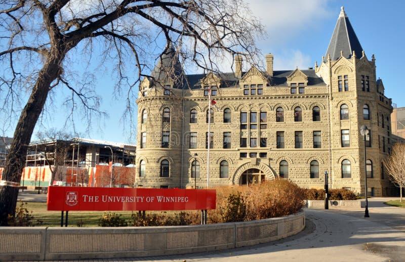 La universidad de Winnipeg fotos de archivo libres de regalías