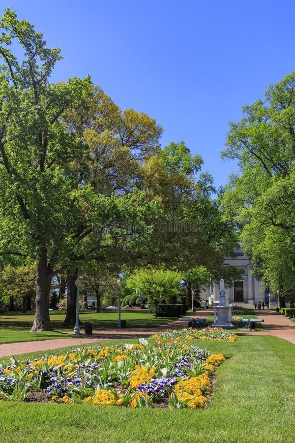 La Universidad John Hopkins famosa foto de archivo libre de regalías