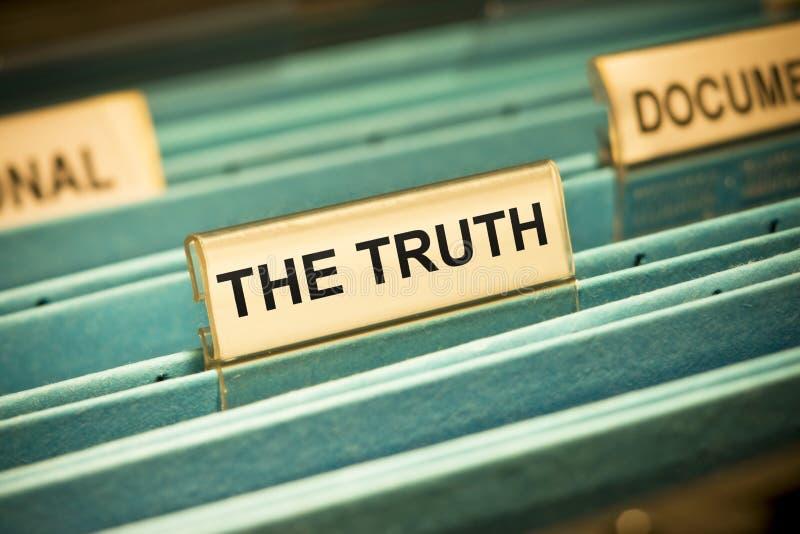 La vérité photo libre de droits