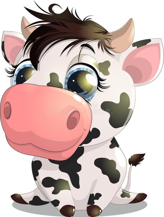 La vache illustration de vecteur