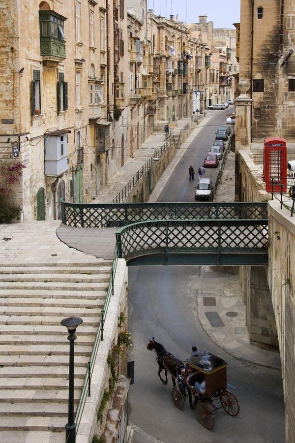 La Valeta - isla de Malta fotos de archivo