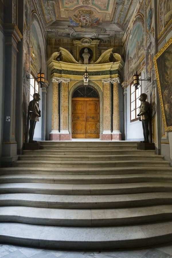 La Valeta, Malta 31 de octubre de 2015: El palacio del Grandmaster imagen de archivo libre de regalías