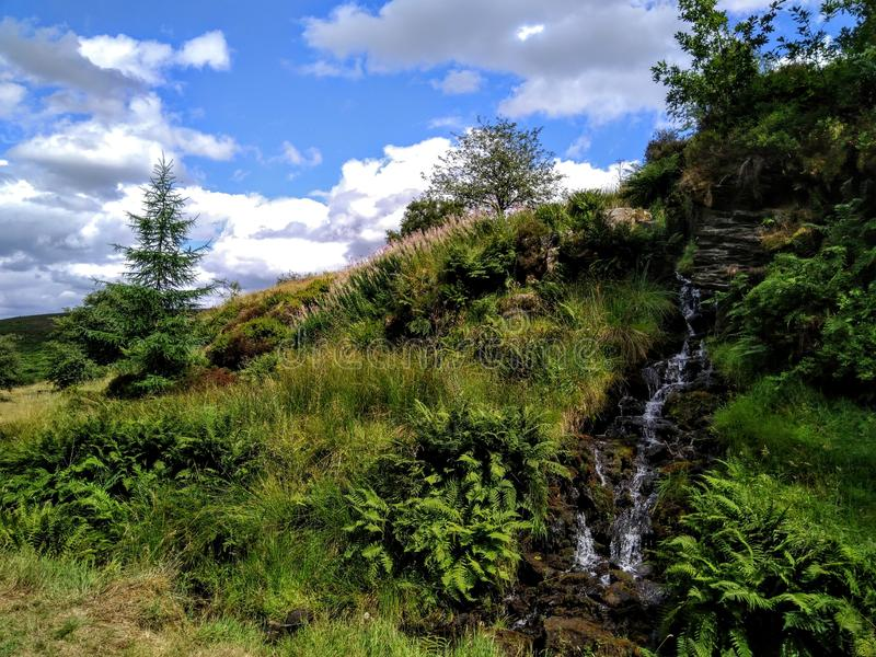 La vallée de Goyt photo stock