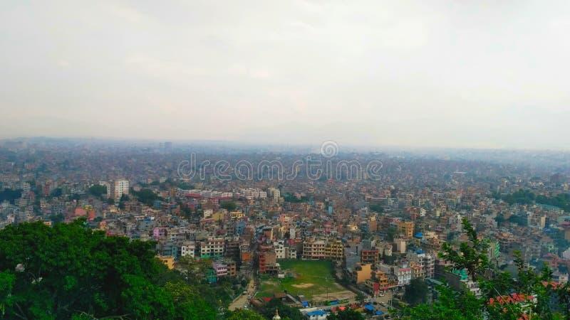 La vallée de Katmandou photographie stock