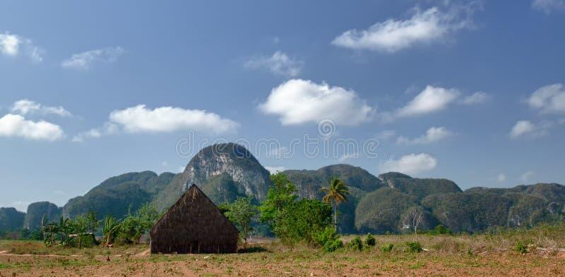 La vallée de Vinales, Cuba photo stock