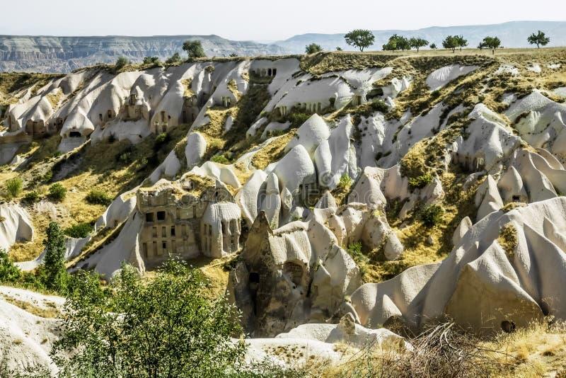 La vallée des pigeons dans Cappadocia, Turquie photos stock