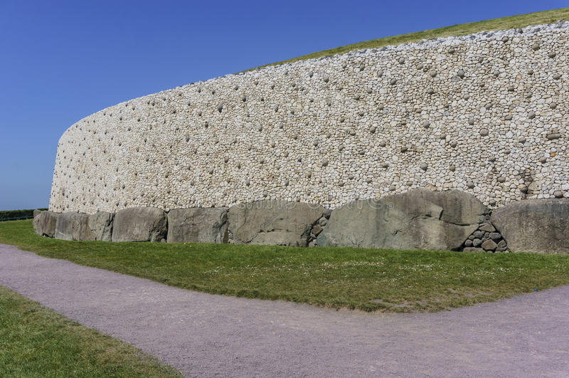 La vallée historique de Boyne - Na Boinne de Bru photographie stock