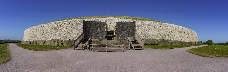 La vallée historique de Boyne - Na Boinne de Bru photographie stock libre de droits