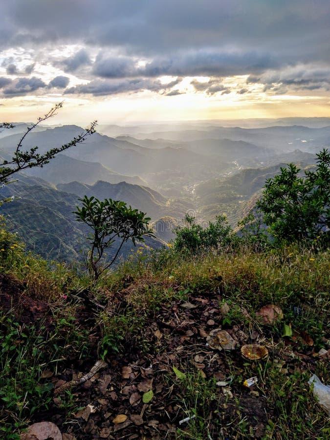 La valle di Greenery fotografia stock libera da diritti